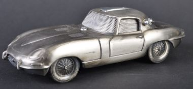 JAGUAR - VINTAGE PEWTER E-TYPE CIGARETTE LIGHTER