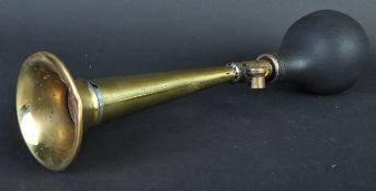 THE RENSHAW - EARLY 20TH CENTURY BRASS CAR HORN
