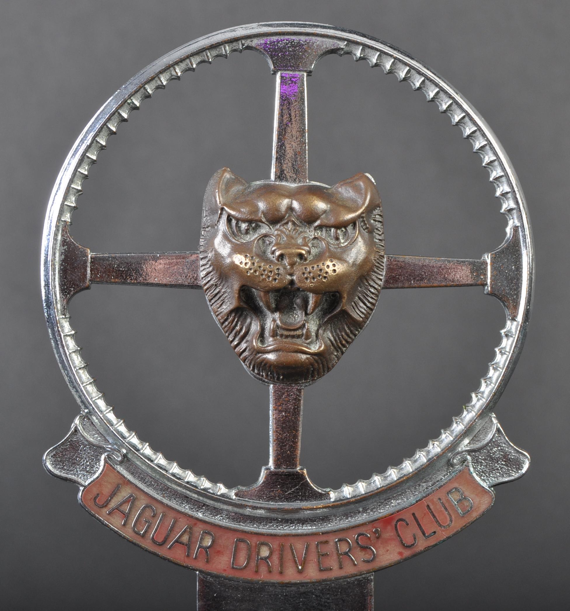 JAGUAR - EARLY JAGUAR DRIVER'S CLUB ENAMEL CAR BADGE - Image 2 of 4