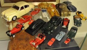 JAGUAR - COLLECTION OF DIECAST & OTHER MODELS