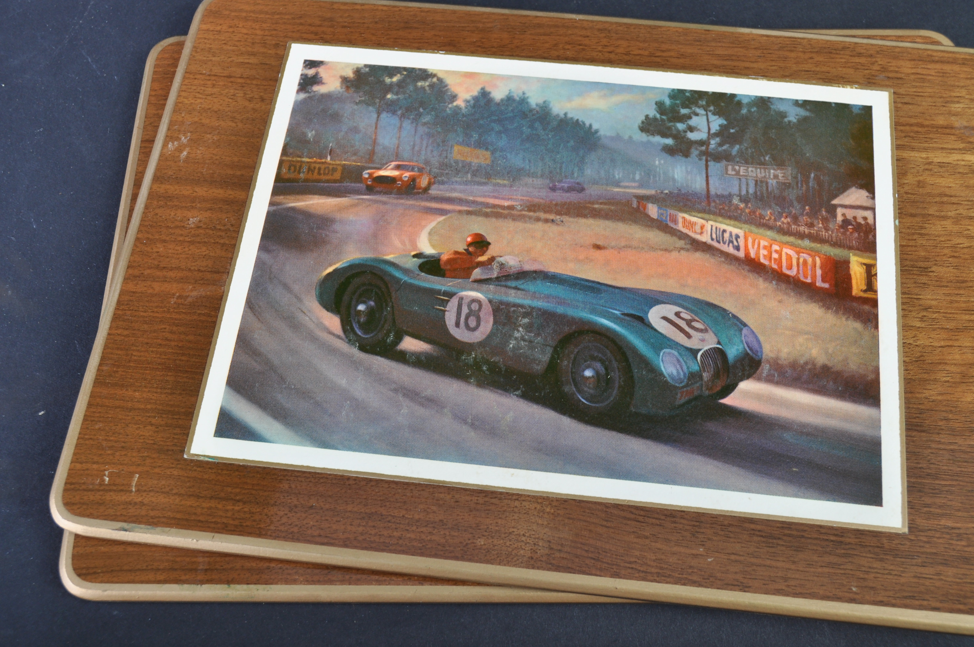 JAGUAR - RARE 1950S BOXED SET OF PLACE / TABLE MATS - Image 7 of 12