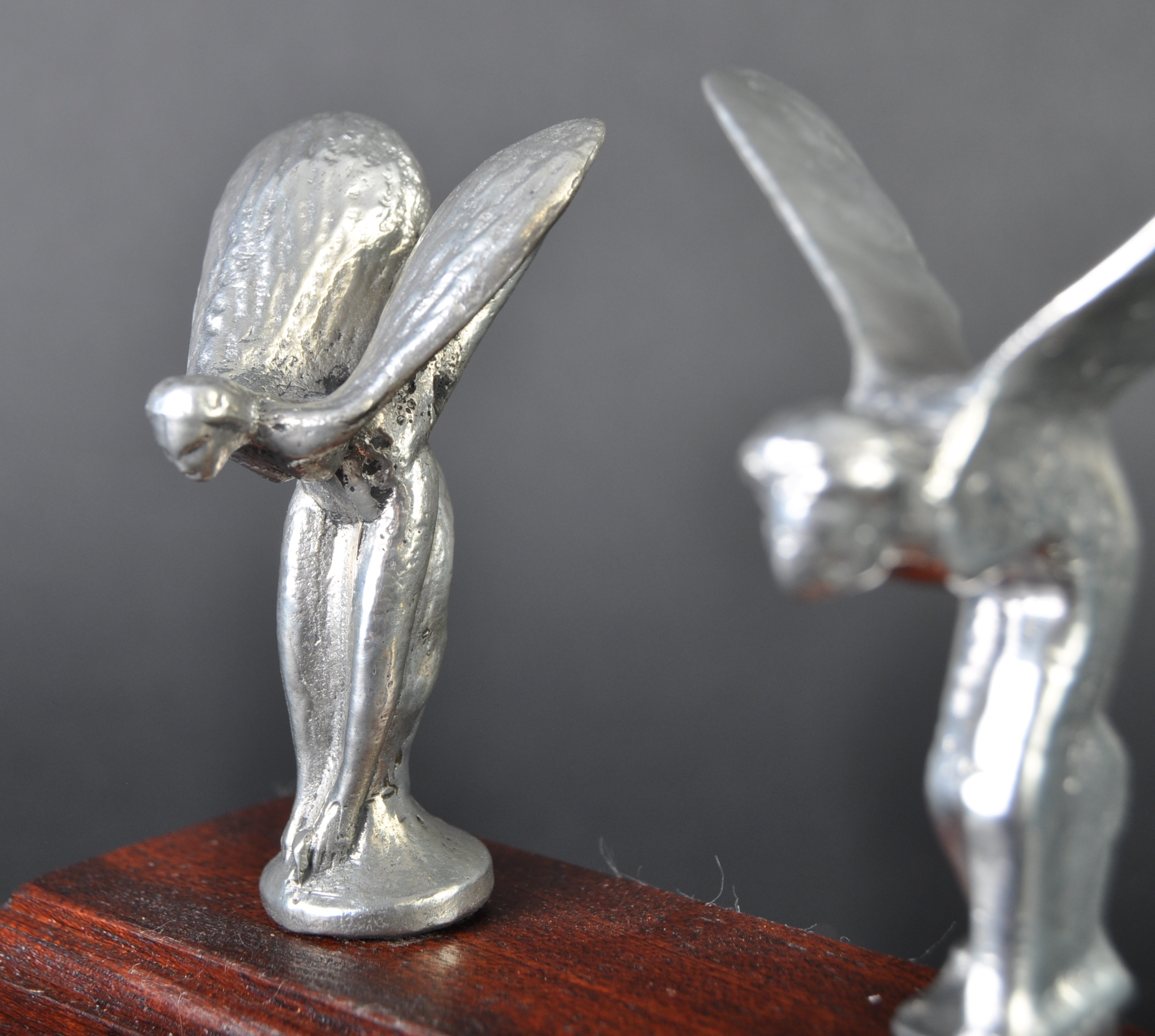 ROLLS ROYCE - SPIRIT OF ECSTASY - PEDAL CAR MASCOTS - Image 3 of 4