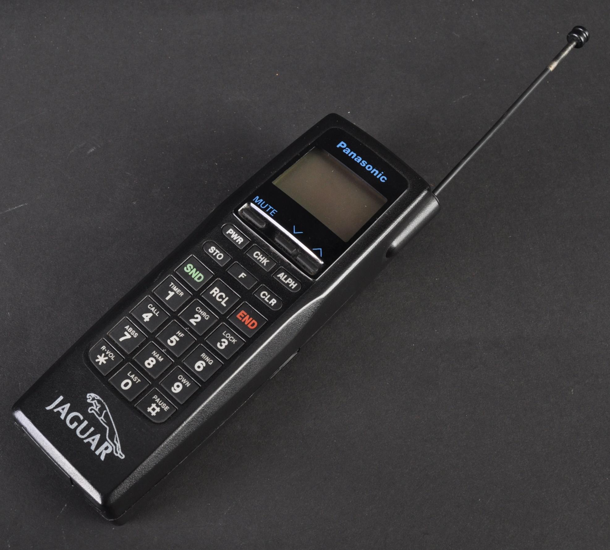 JAGUAR - ORIGINAL 1990S PANASONIC JAGUAR CAR PHONE