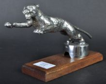 ORIGINAL VINTAGE 1930S DESMO LEAPING CAT CAR MASCOT