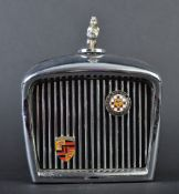 JAGUAR - 1960S CIGARETTE LIGHTER CHROME RADIATOR JAGUAR