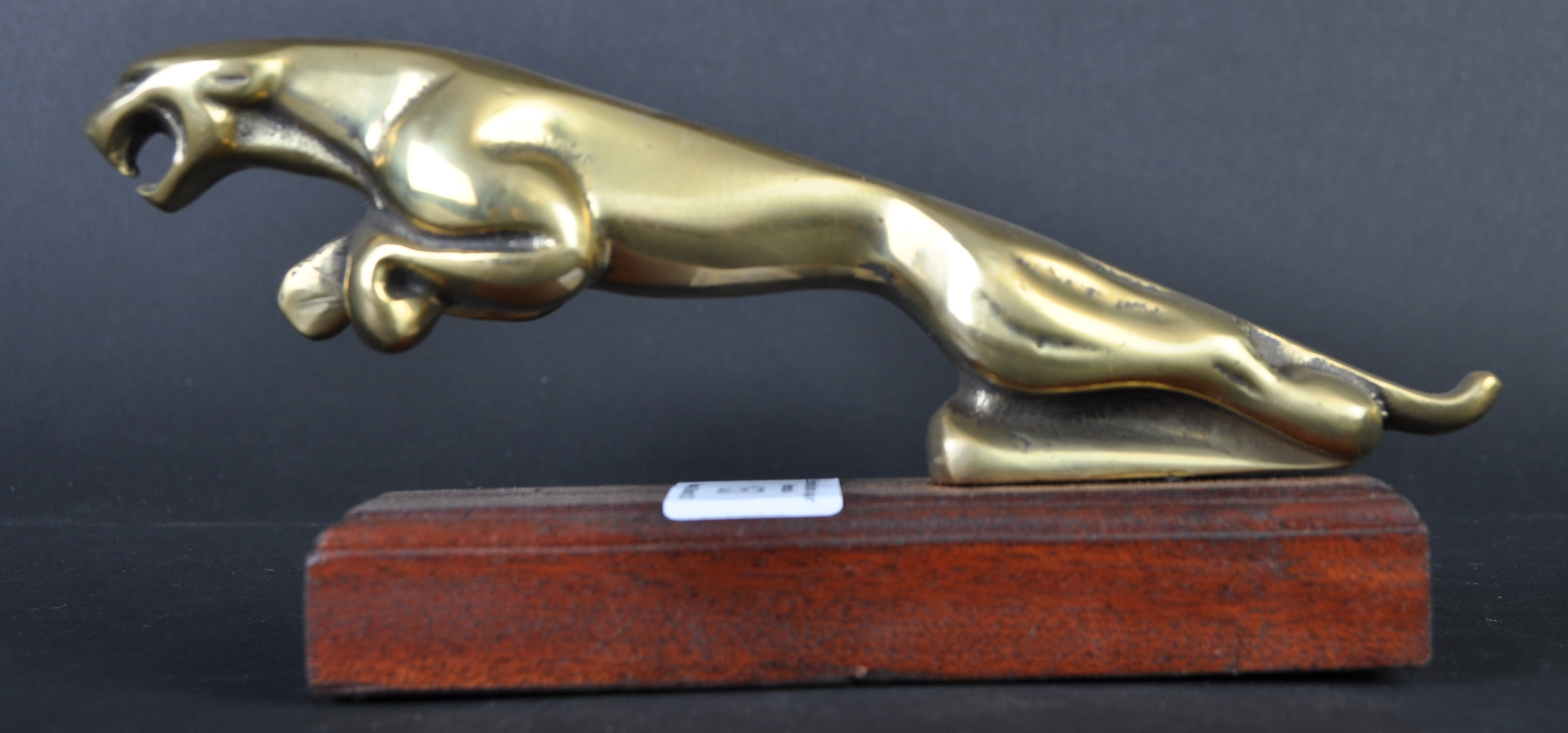 JAGUAR - TYPE 2 BRASS LEAPER BONNET MASCOT - Image 3 of 5