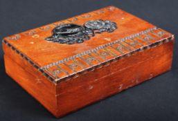 JAGUAR - VINTAGE APPRENTICE PIECE E TYPE JAGUAR BOX