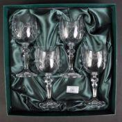JAGUAR - SET OF REG VARDY PRESENTATION CRYSTAL GLASSES