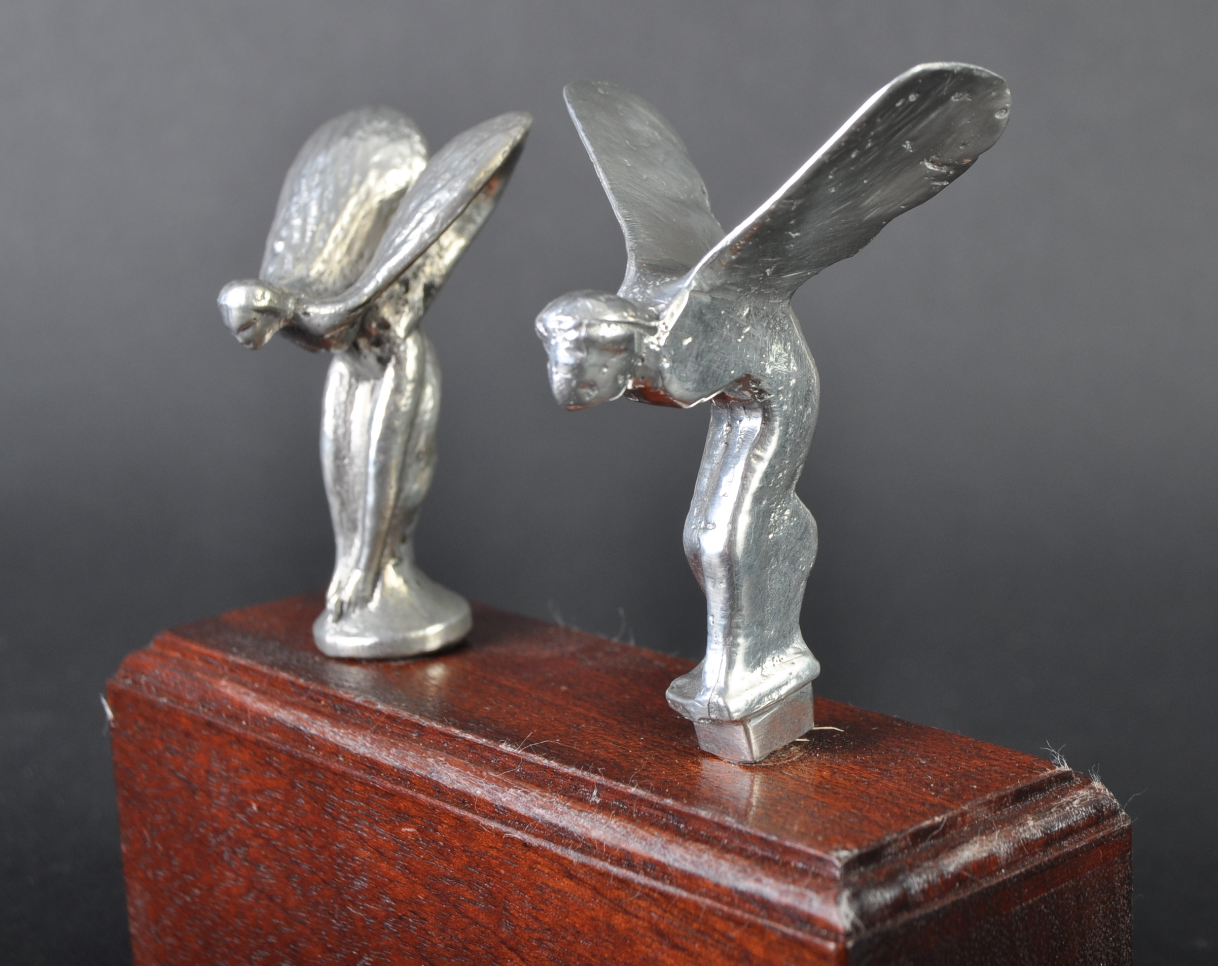 ROLLS ROYCE - SPIRIT OF ECSTASY - PEDAL CAR MASCOTS - Image 2 of 4