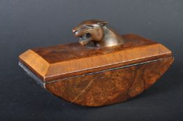 JAGUAR - 1950S PROMOTIONAL MASCOT TOPPED DESK BLOTTER