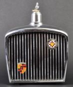 JAGUAR - ROYAL LONDON 1980S MUSICAL HIP FLASK DECANTER