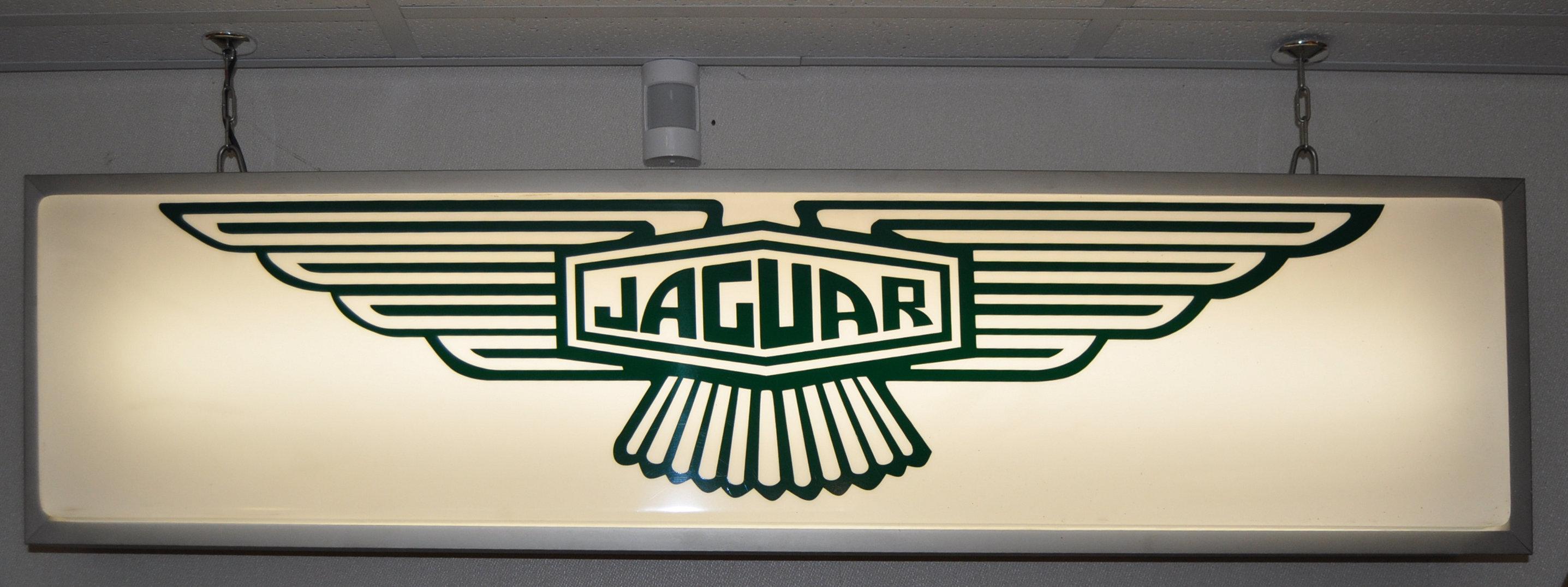 JAGUAR - ORIGINAL DEALERSHIP LIGHTBOX ADVERTISING SIGN