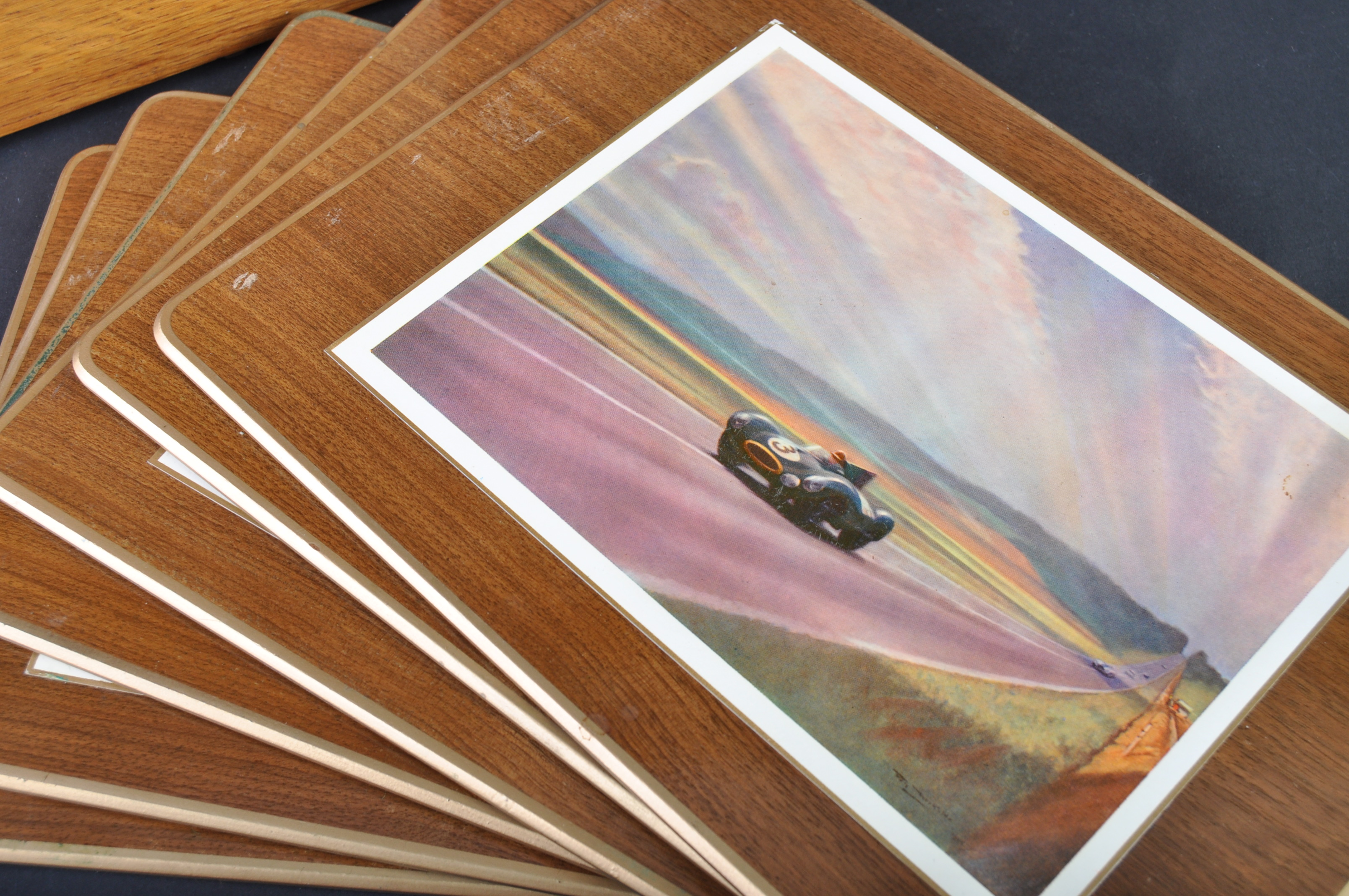 JAGUAR - RARE 1950S BOXED SET OF PLACE / TABLE MATS - Image 3 of 12