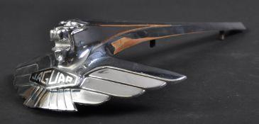 ORIGINAL 1960S JAGUAR MK7 LONGER-VERSION CAR MASCOT BADGE