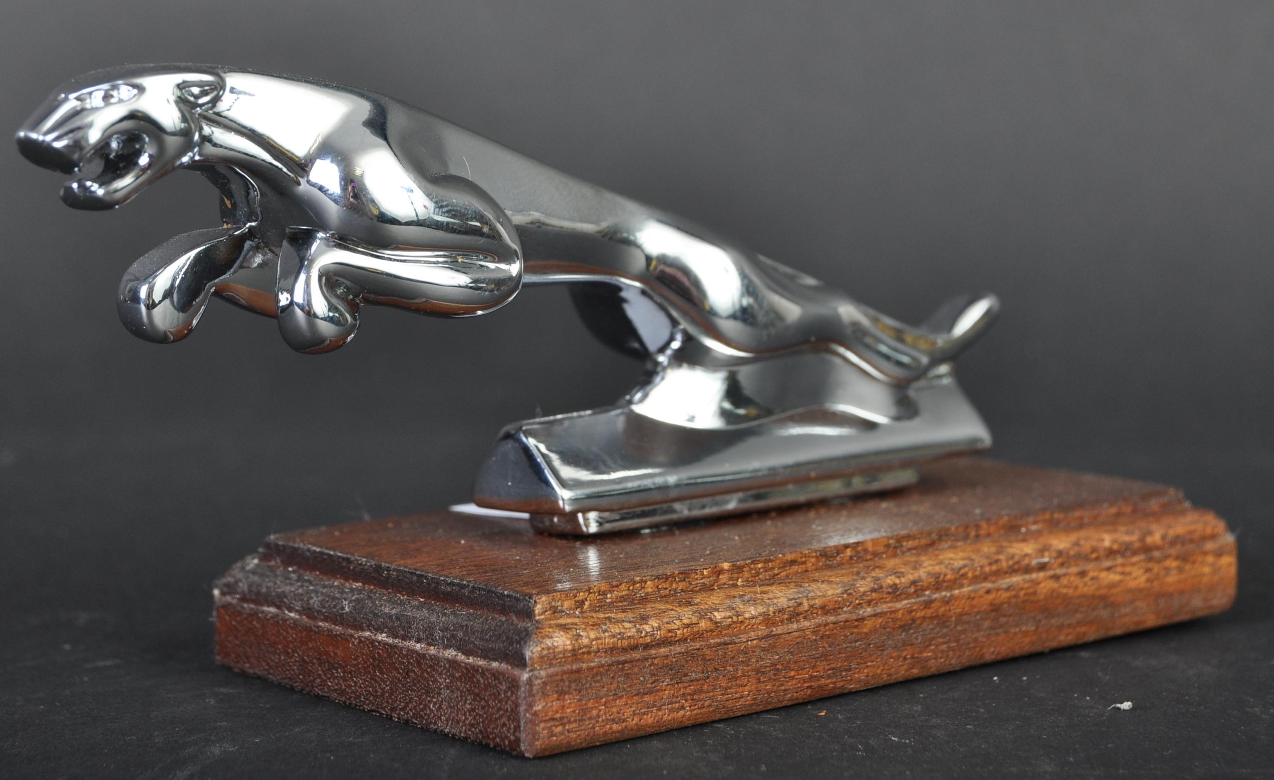 JAGUAR MASCOT - ORIGINAL SMALLER VERSION MADE FOR SCOOTERS
