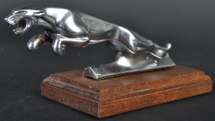 JAGUAR CHROME LEAPER CAR MASCOT - TYPE 3