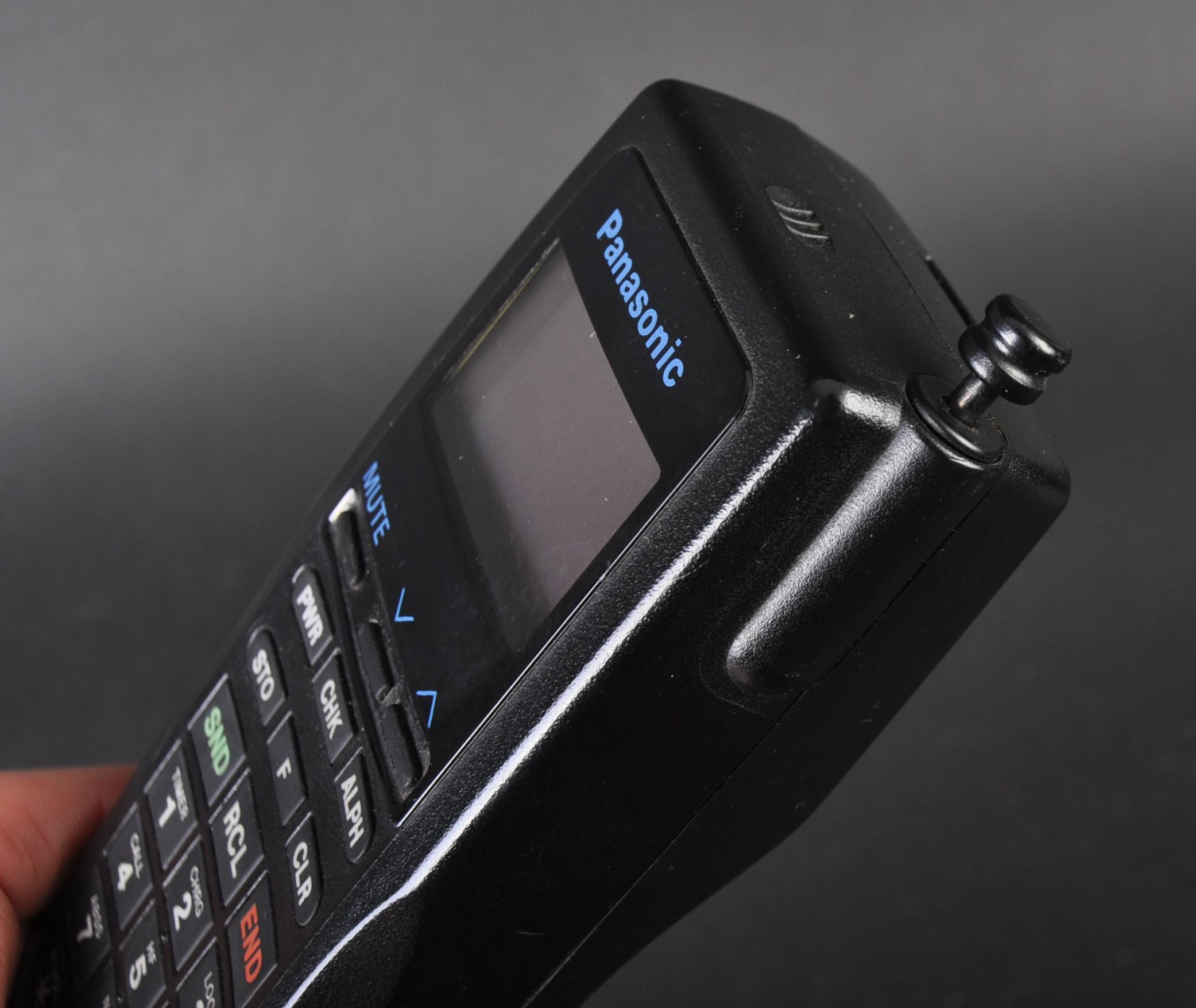 JAGUAR - ORIGINAL 1990S PANASONIC JAGUAR CAR PHONE - Image 4 of 5