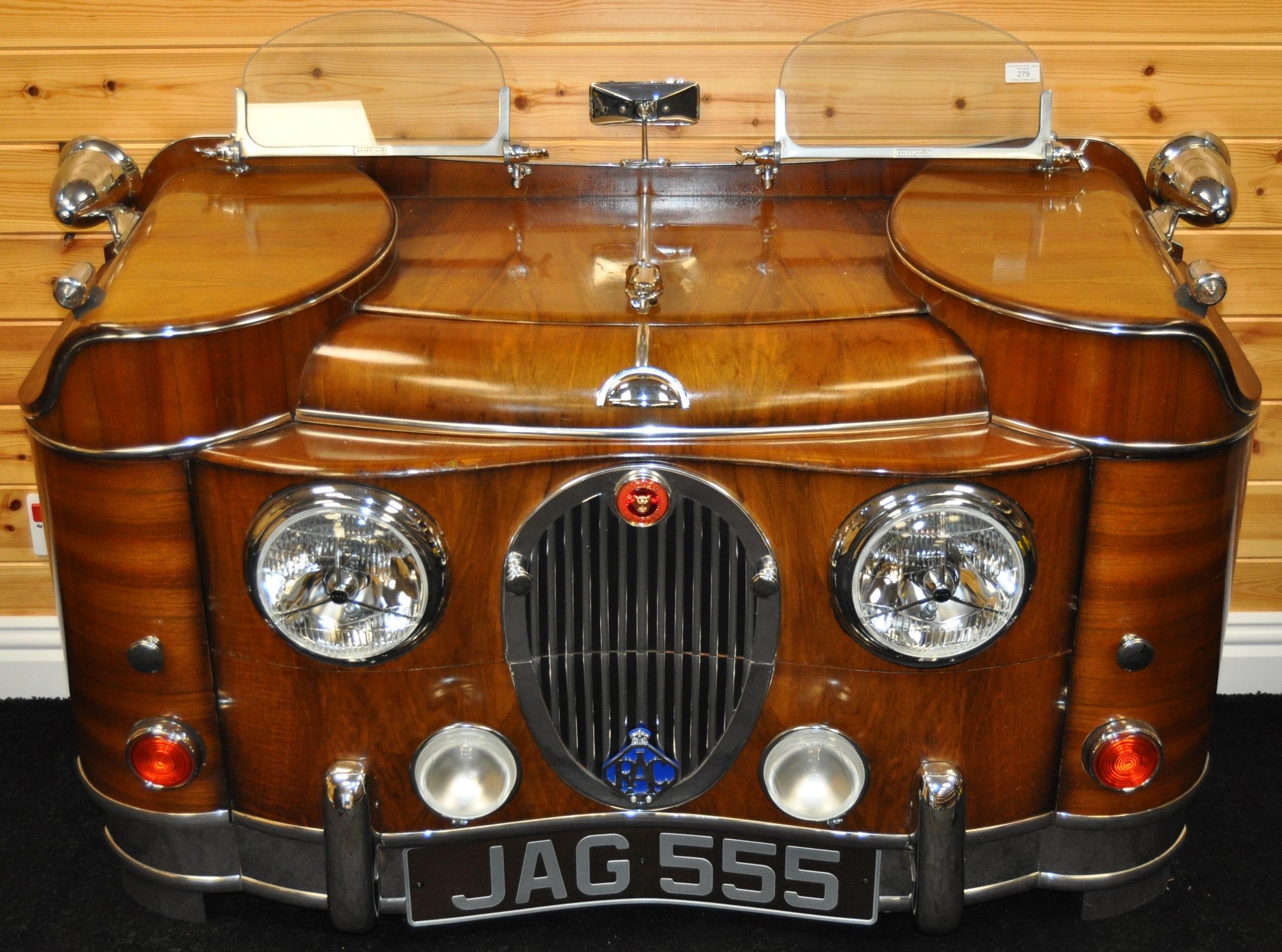 JAGUAR - INCREDIBLE 1940S SIDEBOARD STYLE OF JAGUAR MK 2 - Image 2 of 8