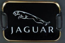 JAGUAR - ORIGINAL 1960S JAGUAR LUMIUM TEA TRAY