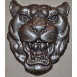 JAGUAR - ORIGINAL CAST METAL SHOWROOM HEAD SIGN