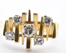 ALAN MARTIN GARD 18CT GOLD & DIAMOND RING