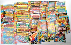 COMIC BOOKS - MARVEL SUPER SPIDER-MAN AND THE TITANS