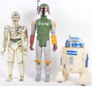 """STAR WARS - COLLECTION OF VINTAGE 12"""" SCALE FIGURES"""
