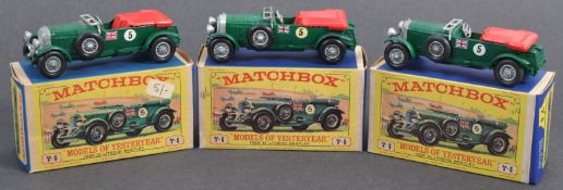 MATCHBOX MODELS OF YESTERYEAR - 1929 BENTLEY COLLECTION