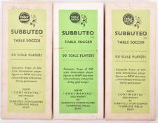 COLLECTION OF ORIGINAL VINTAGE 1960'S SUBBUTEO TEAMS