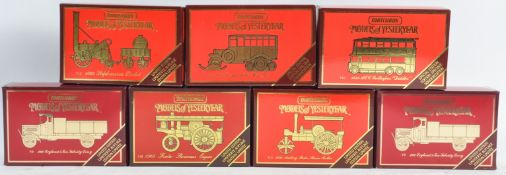 COLLECTION OF ASSORTED MATCHBOX MODELS OF YESTERYEAR DIECAST