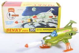 ORIGINAL VINTAGE DINKY TOYS 351 UFO INTERCEPTOR