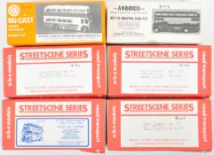 COLLECTION OF VINTAGE 1/76 SCALE WHITE METAL 4MM BUS KITS