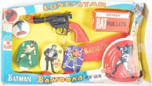 RARE LONE STAR BATMAN BATZOOKA POP GUN PLAYSET