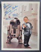 "STAR WARS - KENNY BAKER - R2D2 ORIGINAL SIGNED 8X10"" PHOTOGRAPH"