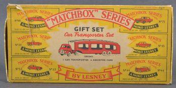 LESNEY MATCHBOX SERIES GIFT SET CAR TRANSPORTER