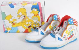 PAIR OF ORIGINAL VINTAGE BART SIMPSONS ' BART BOOT ' TRAINERS