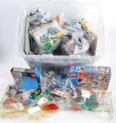 LARGE COLLECTION OF ASSORTED LEGO BRICKS AND ACCESSORIES