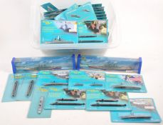TRI-ANG MINIC SHIPS - LARGE QUANTITY OF CARDED DIECAST MODELS
