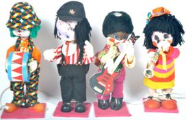 COLLECTION OF X4 VINTAGE ANIMATRONIC SHOP DISPLAY PUPPETS