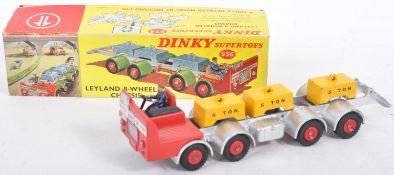 ORIGINAL VINTAGE DINKY SUPERTOYS DIECAST MODEL LEYLAND TRUCK