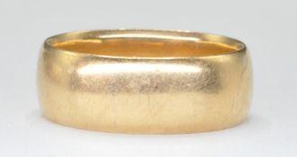 18CT GOLD WEDDING BAND RING