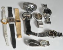 COLLECTION OF 20TH WRISTWATCHES - PULSAR , CIMIER
