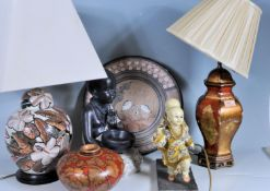 COLLECTION OF 20TH CENTURY CHINESE ORIENTAL CERAMIC WARE