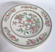 LARGE COLLECTION OF INDIAN TREE - DINNER & TEA SERVICE