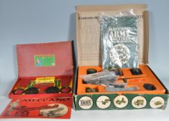 COLLECTION OF VINTAGE MECCANO TOYS
