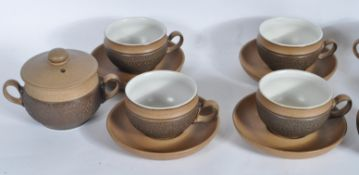 COLLECTION OF RETRO VINTAGE DENBY POTTERY