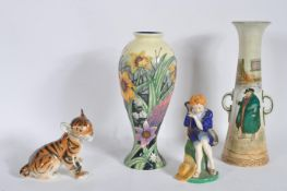 COLLECTION OF CERAMICS TO INCLUDE USSR, DOULTON, TUPTON WARE