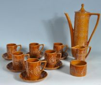 VINTAGE PORTMEIRION COFFEE SET IN TOTEM PATTERN