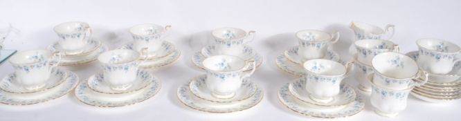 ROYAL ALBERT MEMORY LANE TEA SERVICE