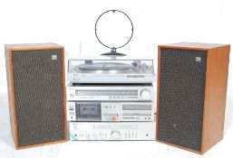 RETRO VINTAGE 20TH CENTURY SONY HI-FI MUSICAL STACKING SYSTEM